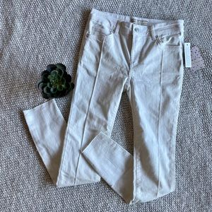 NWT Free People White Skinny Jeans